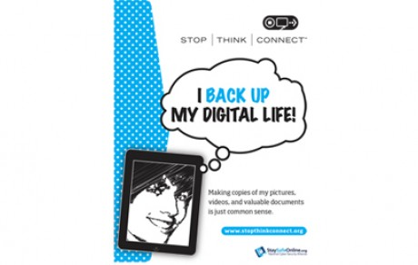 I back up my digital life!