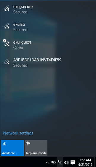 how to connect to the wireless network on windows 8