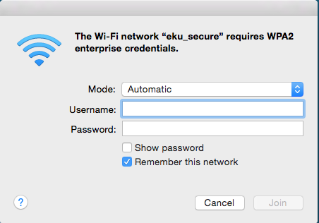 how to connect a mac to the network