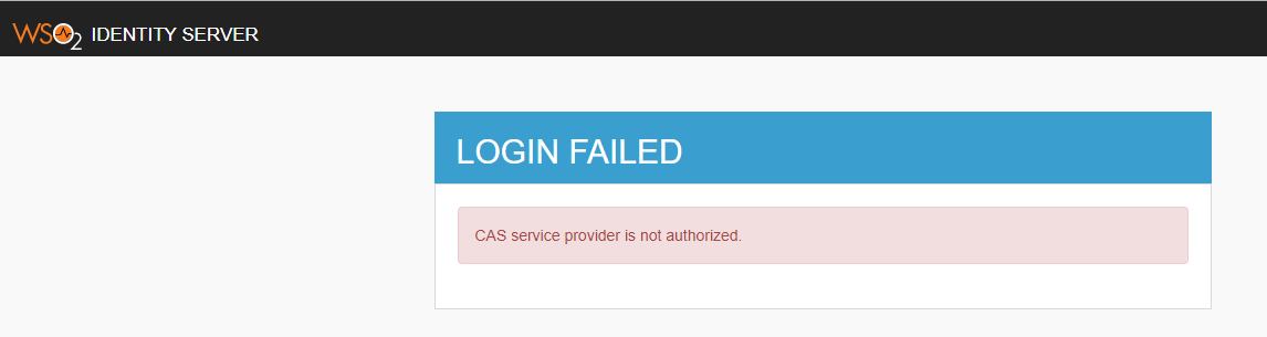 While trying to login to EKU Direct / Banner receive a Login Failed CAS service provider is not authorized error