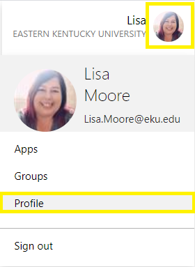Go to https://myapps.microsoft.com  then select your account name picture in the top right, then select Profile then Set up self service password reset.