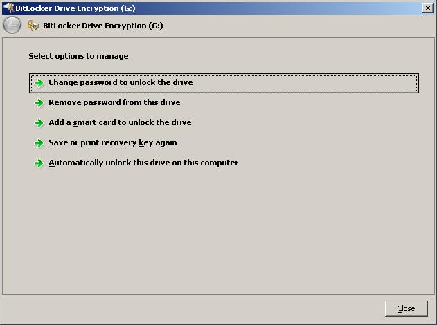BitLocker Recovery | Information Technology