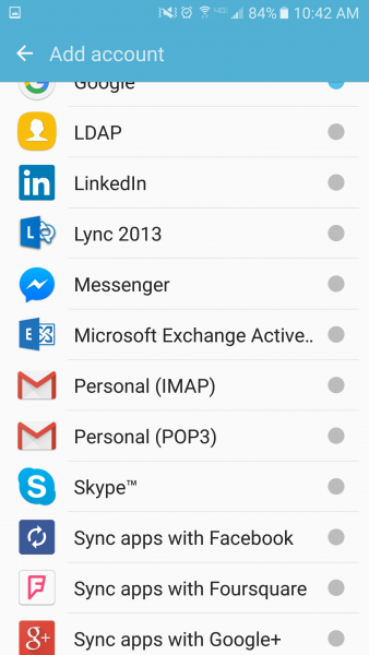 Email Setup on Android Phone: Employee | Information Technology