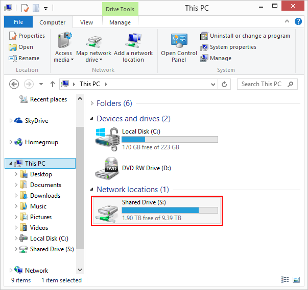 How To Map A Network Drive Windows 8 Map a Network Drive   Windows 8 | Information Technology How To Map A Network Drive Windows 8