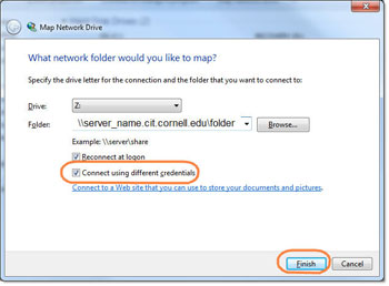 Map a Network Drive - Windows 7 | Information Technology Drive Mapping Windows on