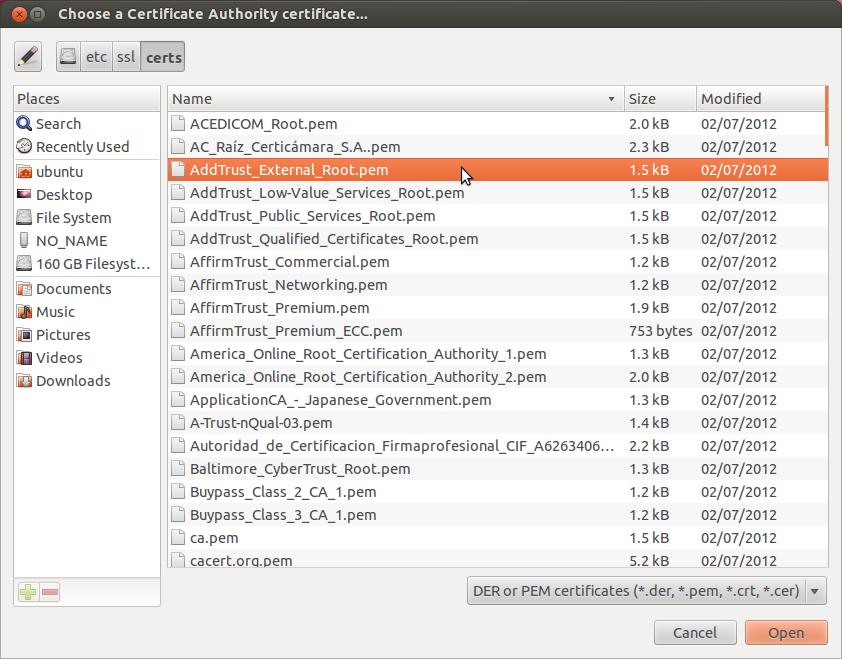 Ubuntu Ssl Certificate Location Gallery Creative Certificate